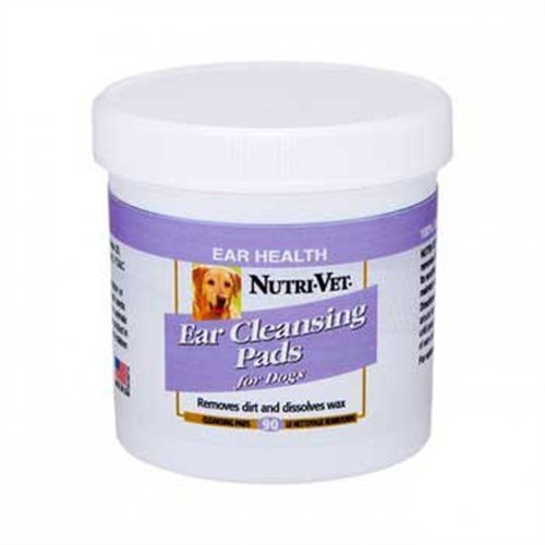 Nutri-Vet Ear Cleaning Medicated Pads