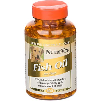 Nutri-Vet Fish Oil Softgels
