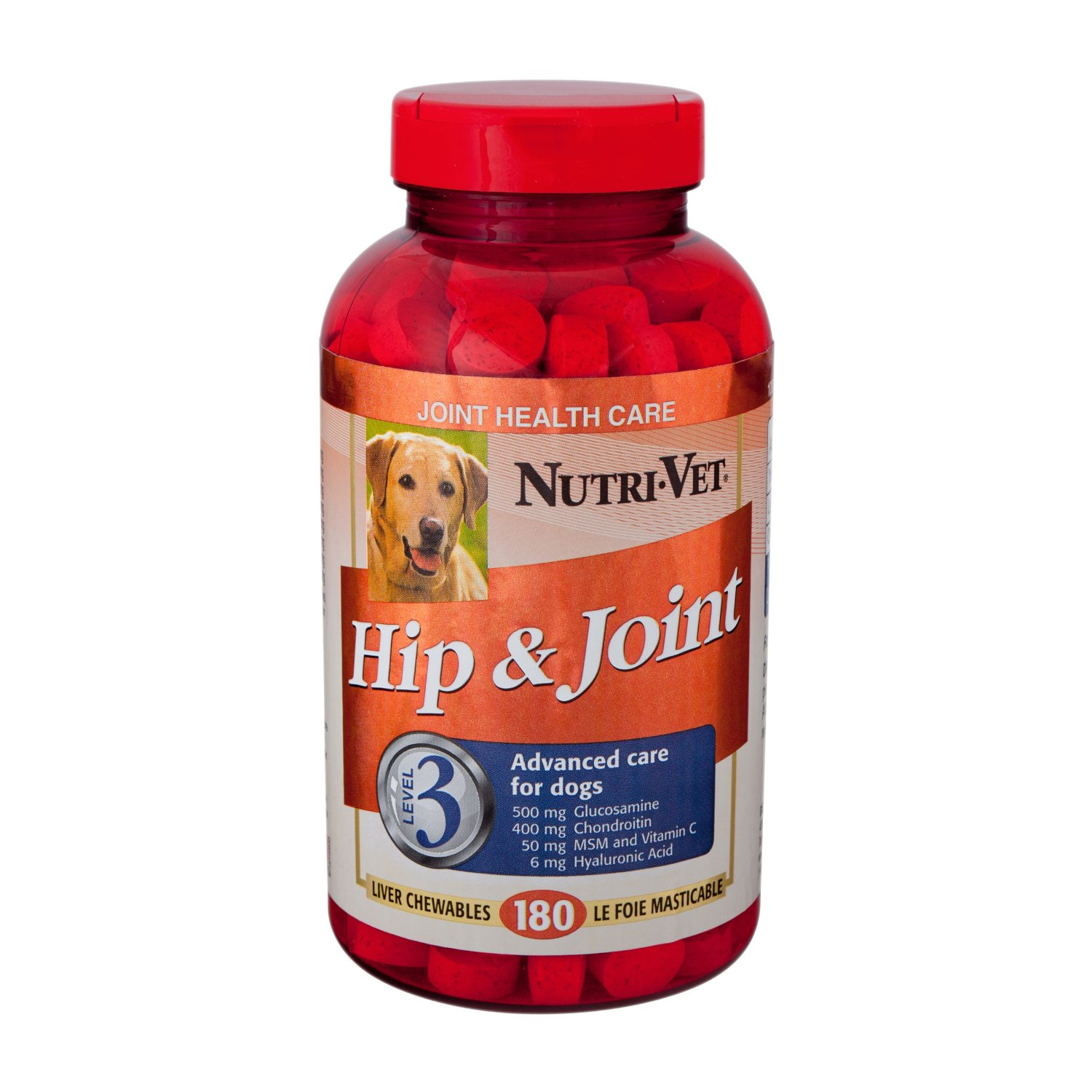 Nutri-Vet Hip and Joint Level 3 Chewable Tablet for Dogs