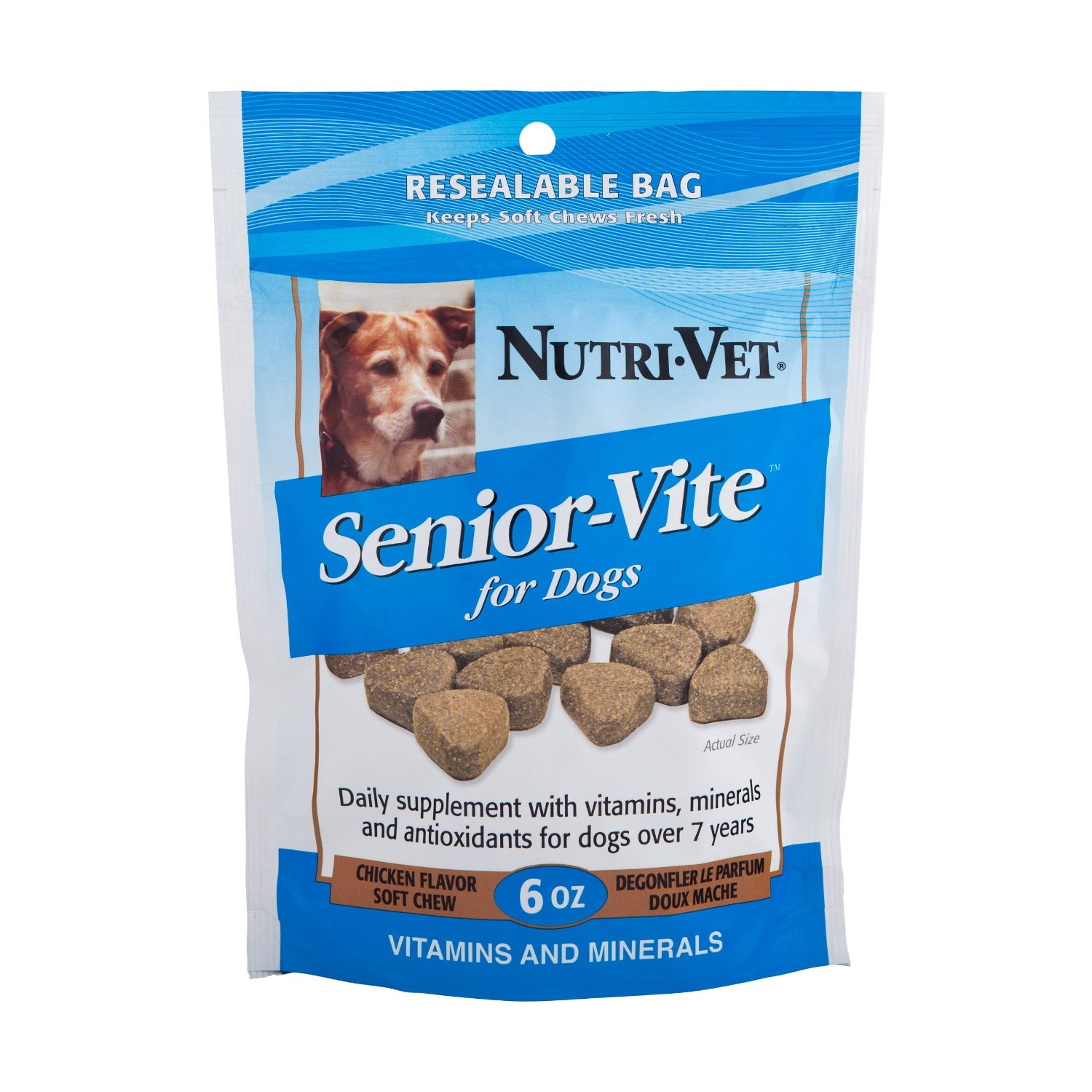 Nutri-Vet Senior-Vite Soft Chews for Dogs