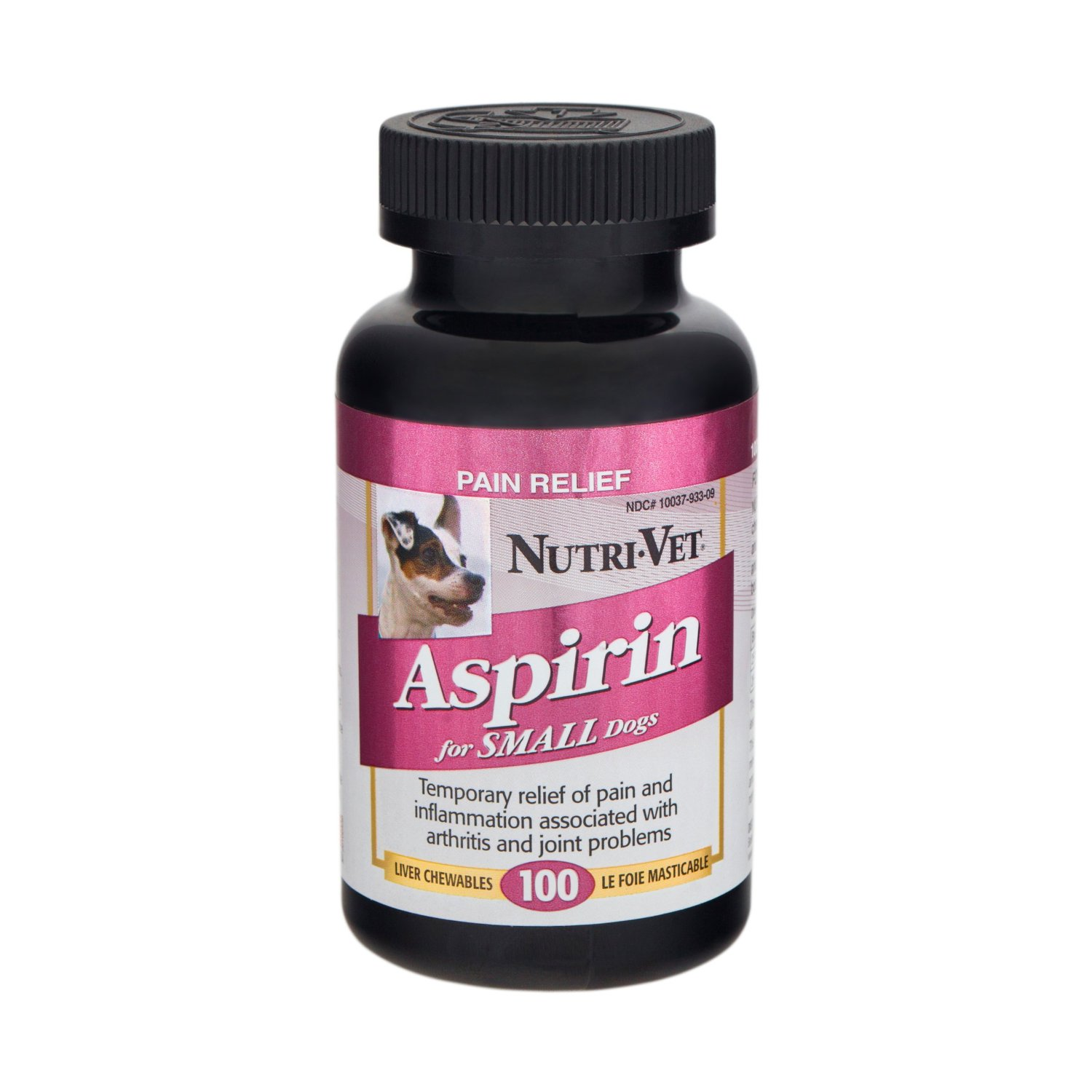 Nutri-Vet K-9 Aspirin Chewables for Small Dogs