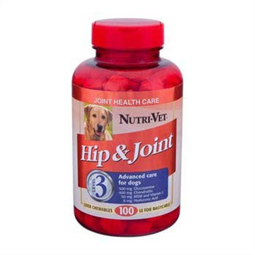 Nutri-Vet Veterinarian Strength Hip & Joint Maximum Chewable Tablets