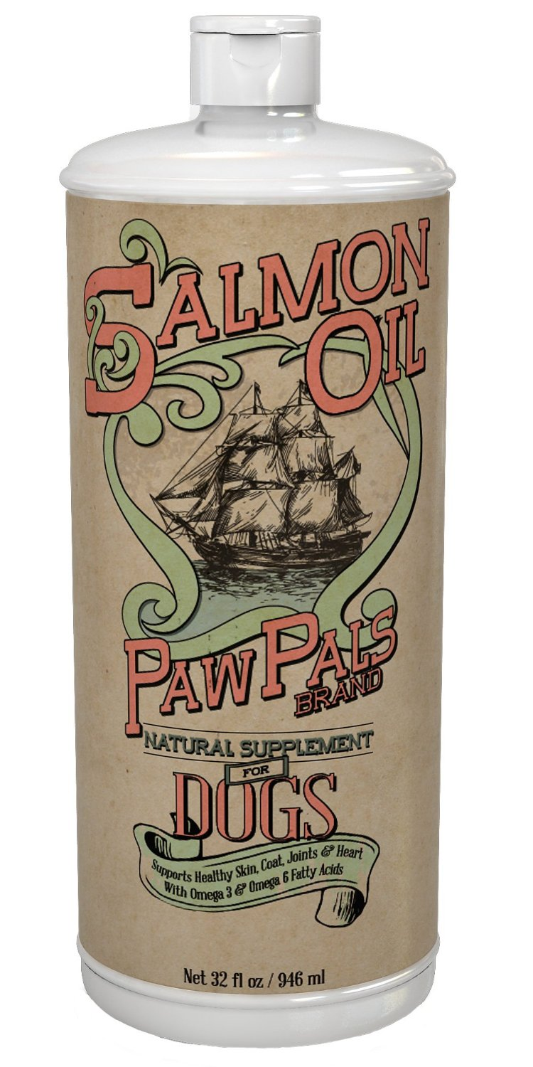 PawPals Salmon Oil For Dogs and Cats