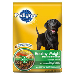 Pedigree Healthy Weight Targeted Nutrition Dog Food