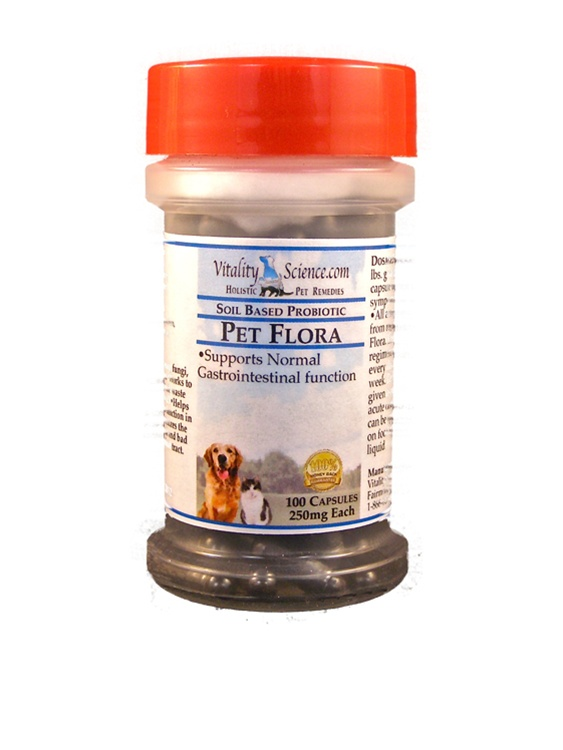 Pet Flora Soil Based Probiotic for Dogs