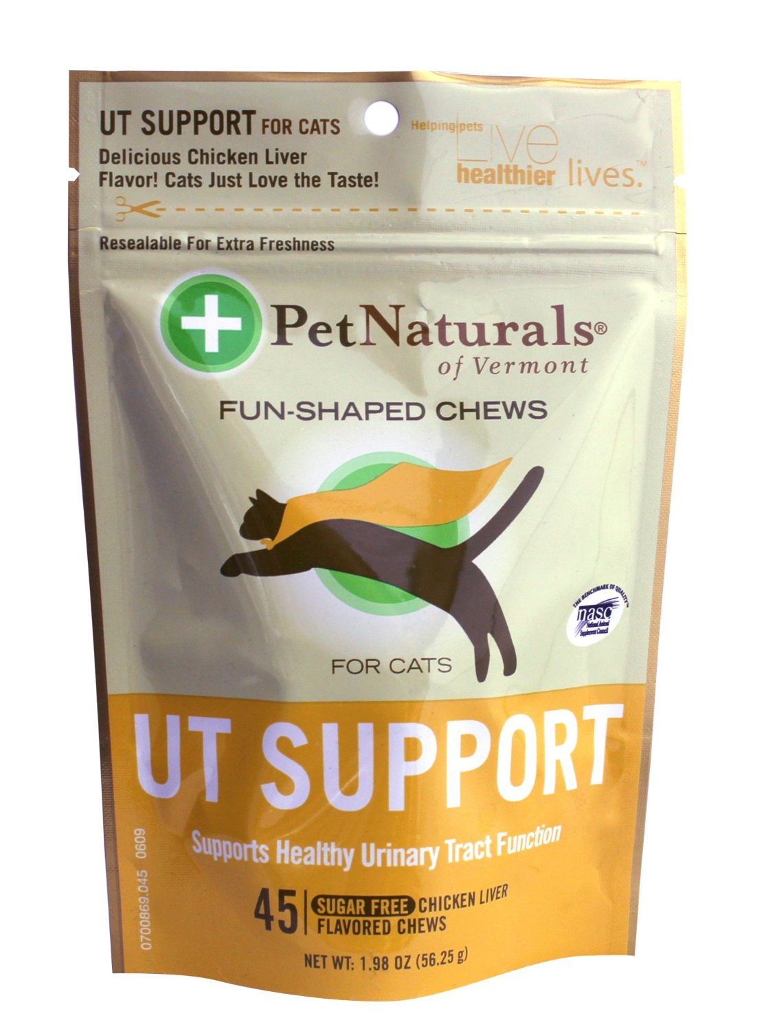 Pet Naturals UT Support for Cats