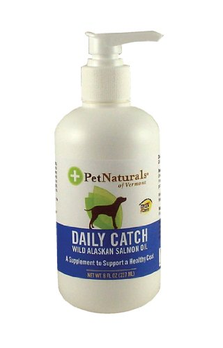 Pet Naturals of Vermont Daily Catch Wild Alaskan Salmon Oil for Pets