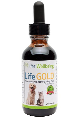 Pet Wellbeing Life Gold Dog Health Support