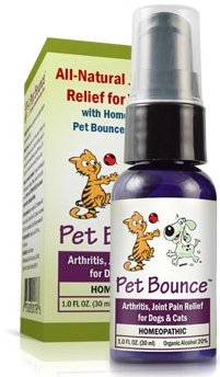 Pet Bounce Arthritis and Pet Joint Pain Relief Supplement for Dogs and Cats