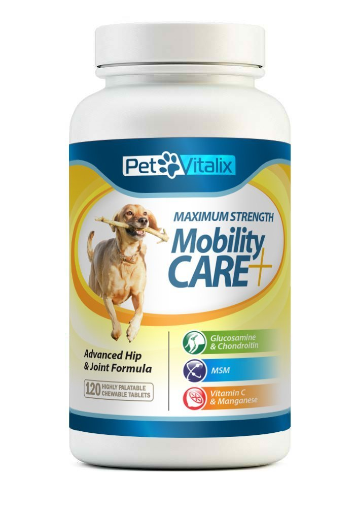 PetVitalix Glucosamine for Dogs with Chondroitin + MSM