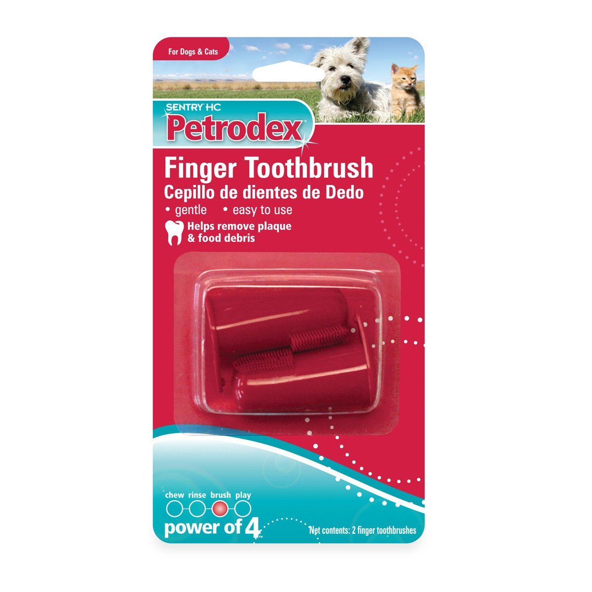 Petrodex Finger Toothbrush Dog and Cat