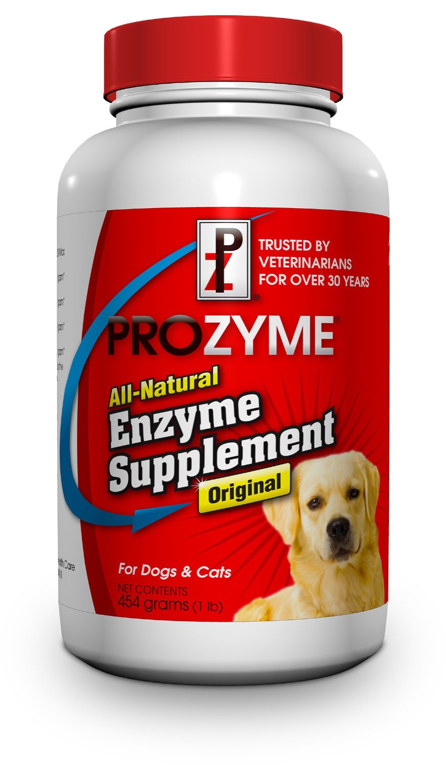 Prozyme Original All-Natural Enzyme Supplement for Dogs and Cats