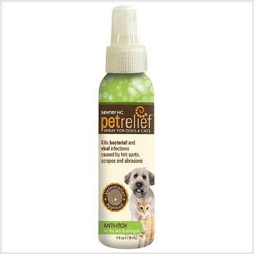 Sentry HC Pet Relief Anti Itch Spray