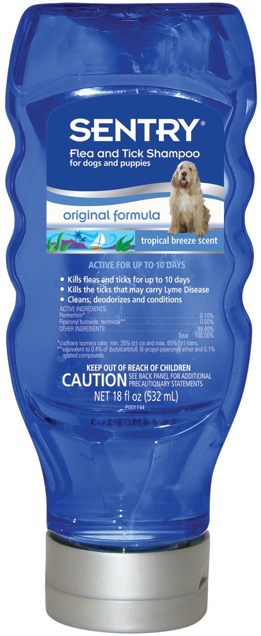 Sentry Tropical Breeze Flea and Tick Dog Shampoo