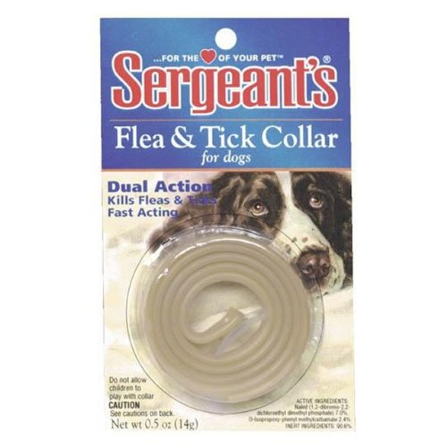 Sergeant's Dual-Action Flea & Tick Collar for Dogs