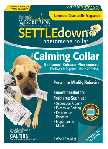 Sergeant's Vetscription Settle Down Pheromone Dog Collar