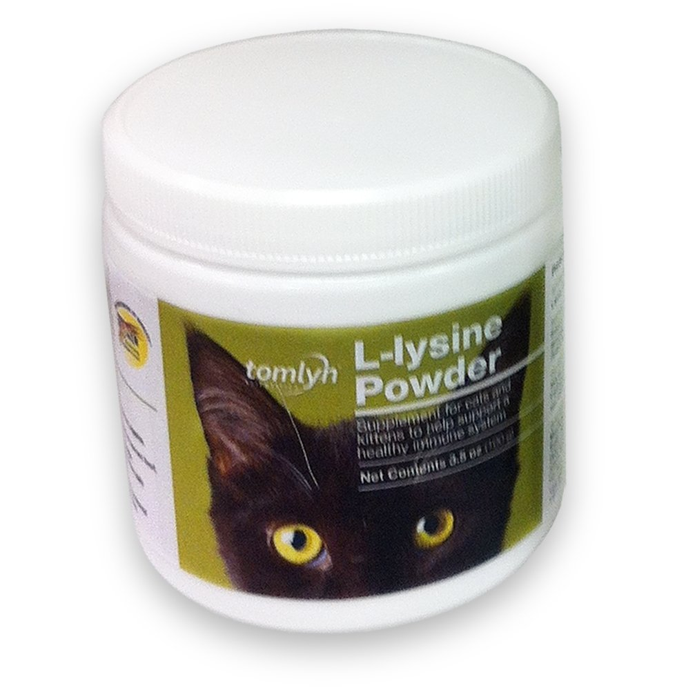 Tomlyn Scientifics L-Lysine Health Supplement Powder for Cats