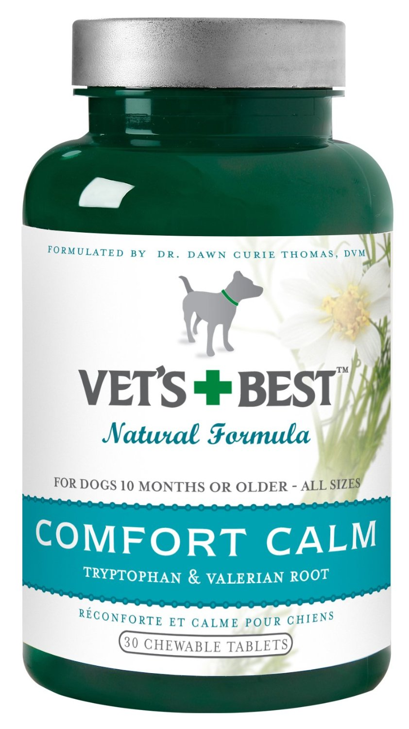 Vet's Best Comfort Calm Chewable Tablets