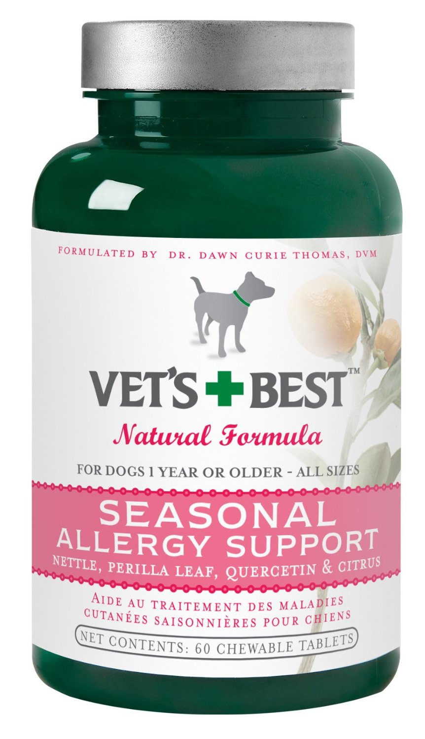 Vet's Best Seasonal Allergy Support Supplement