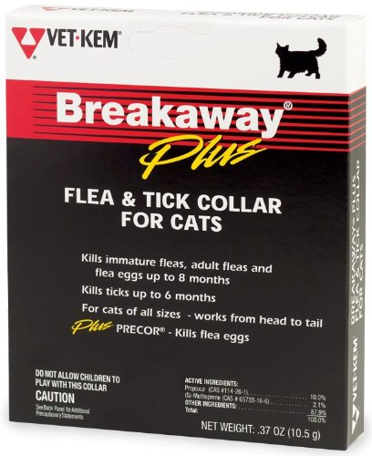 Vet-Kem Breakaway Flea & Tick Collar for Cats