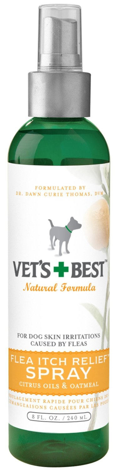 Veterinarian's Best Oatmeal Flea Relief Spray