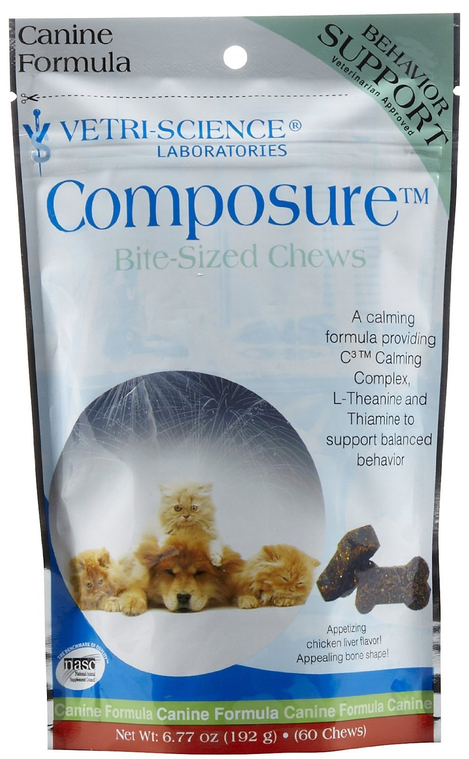 Vetri-Science Composure Bite-Sized Chews