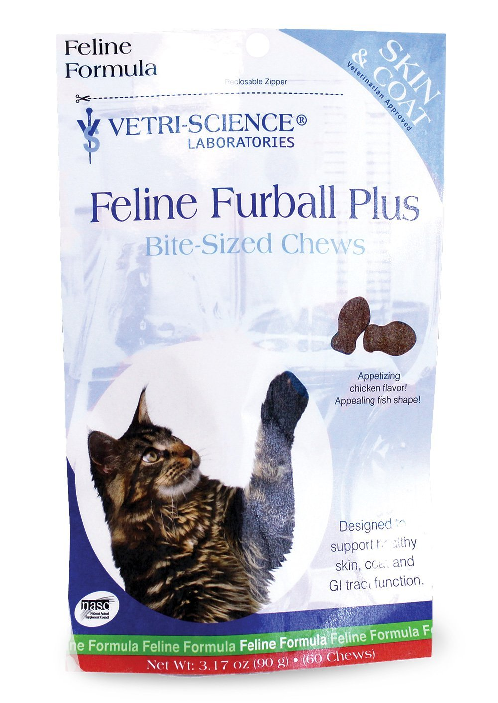 Vetri-Science Laboratories Feline Furball Plus Hairball Remedy
