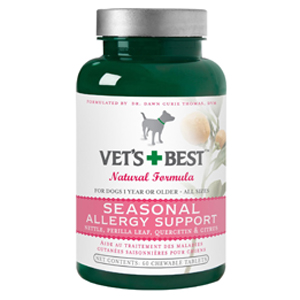 Vet's Best Seasonal Allergy Support Supplement for Dogs