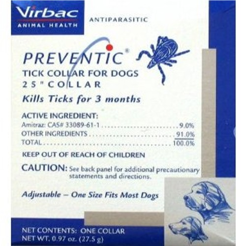 Virbac Preventic Tick Collars