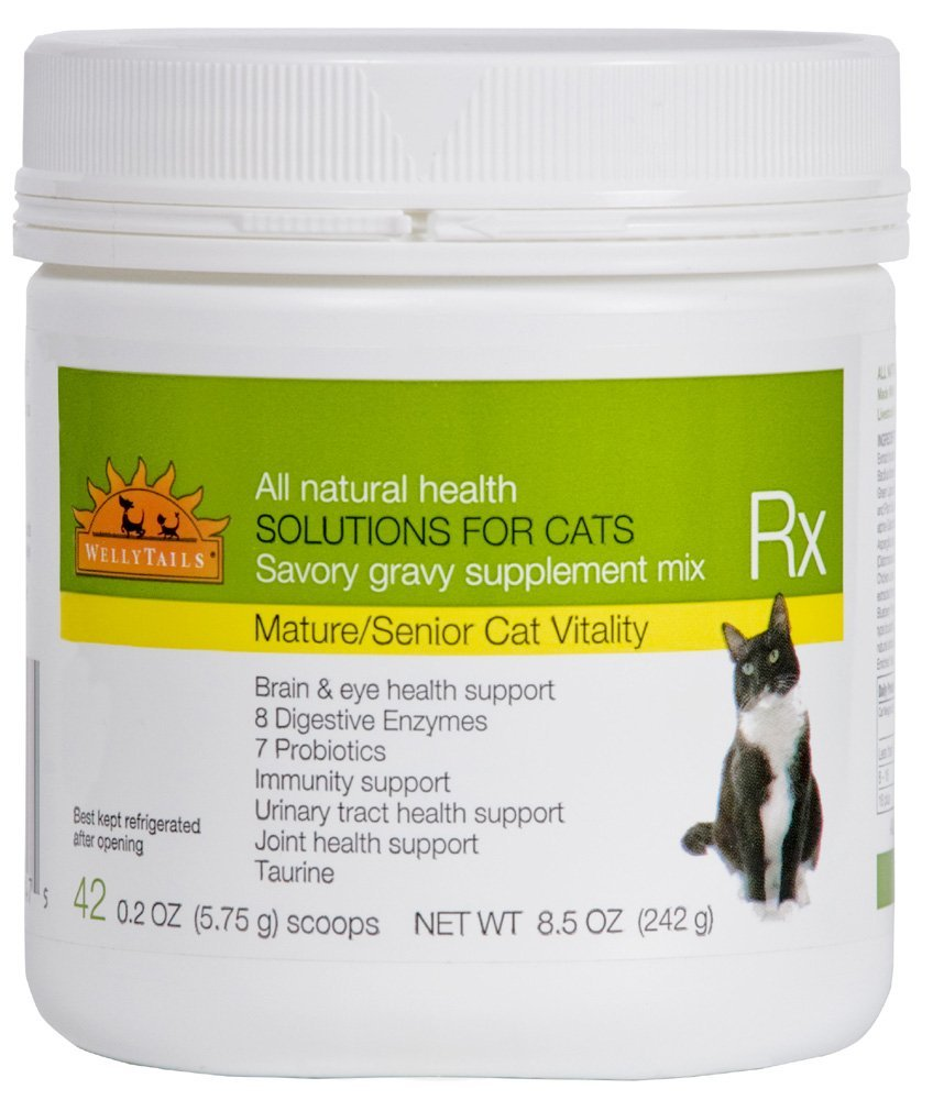 WellyTails Senior Mature Vitality Cat Rx Nutritional Supplement