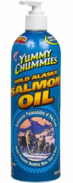 Yummy Chummies Wild Alaskan Salmon Oil For Dogs