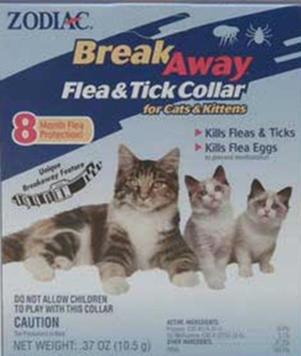 Zodiac Flea & Tick Collar for Cats & Kittens